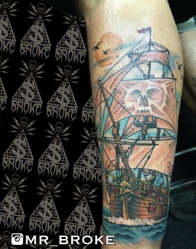 Pirate Leg