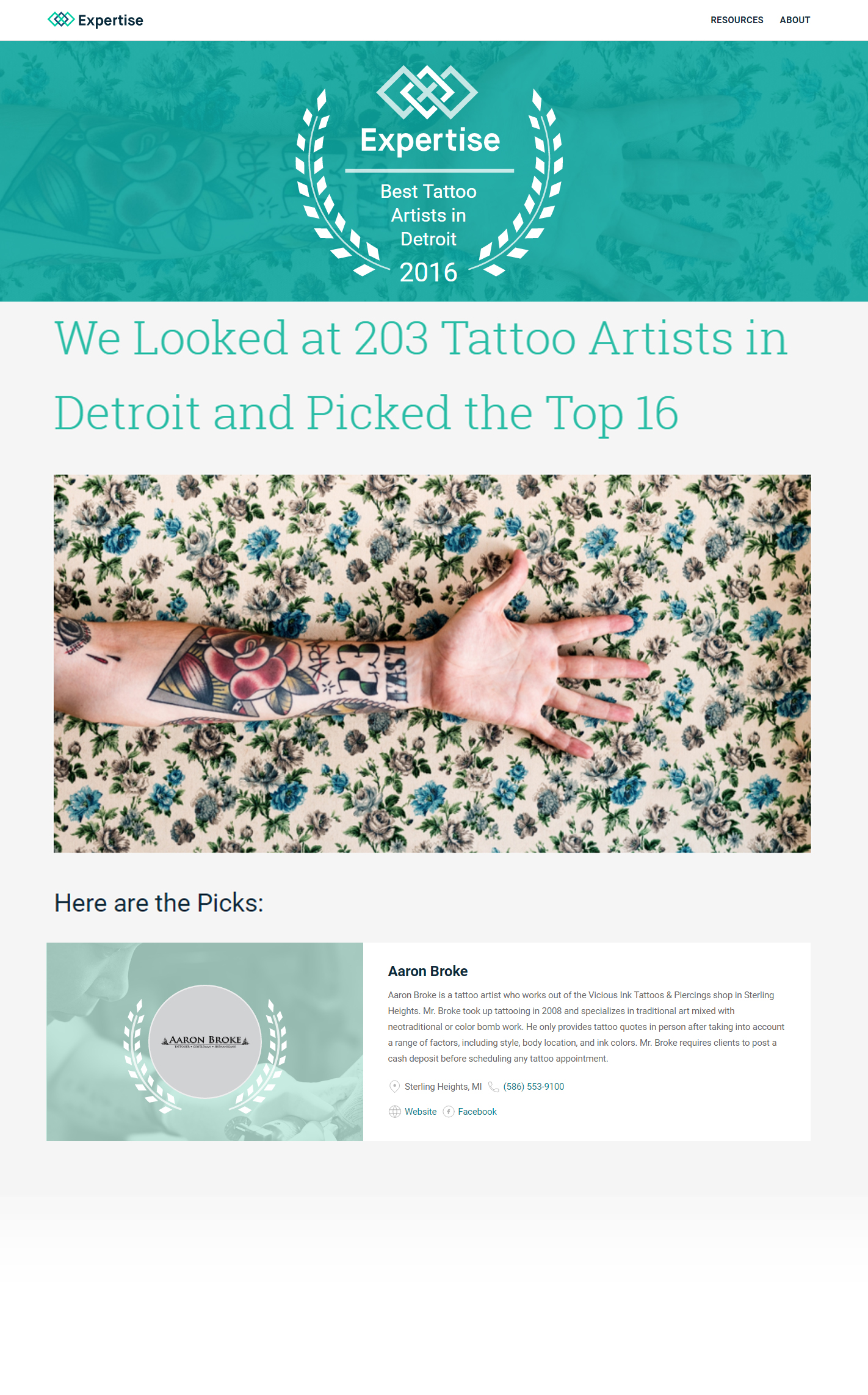Aaron Broke – Top Tattoo Artist in Detroit | Tattoos by Aaron Broke